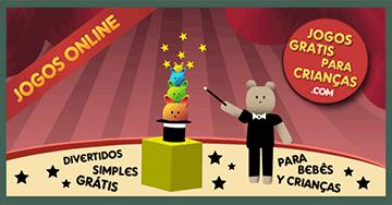 Jogos para criancinhas apertando qualquer tecla no PC ou com toques na tela touch screen. Jogar Boris O Mágico online, em português e grátis.