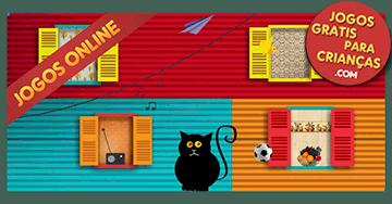 Jogos educativos para crianças de 3 anos: O jogo das janelas. Mães online!